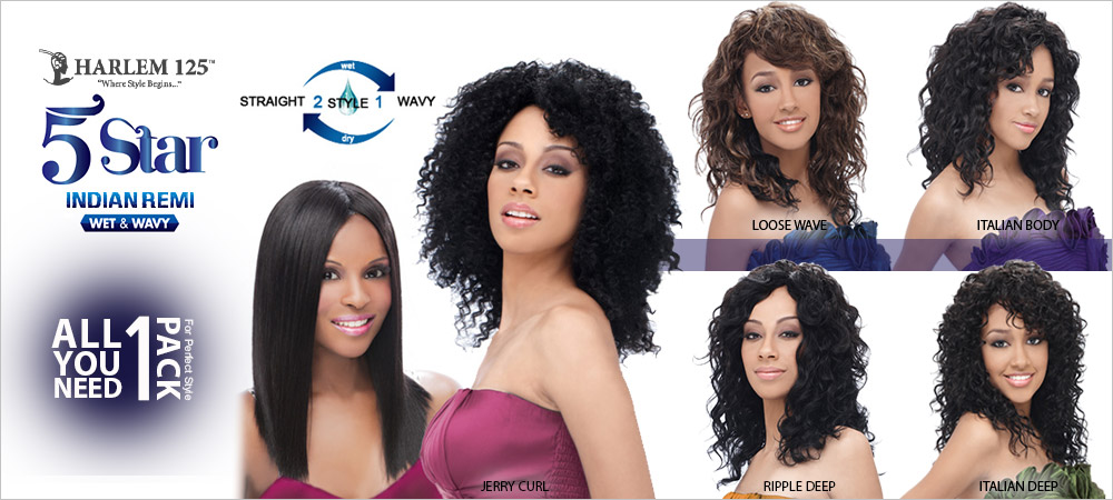 Indian Remi Wet Wavy Collection Straight 2 Style In 1 All You Need Pack