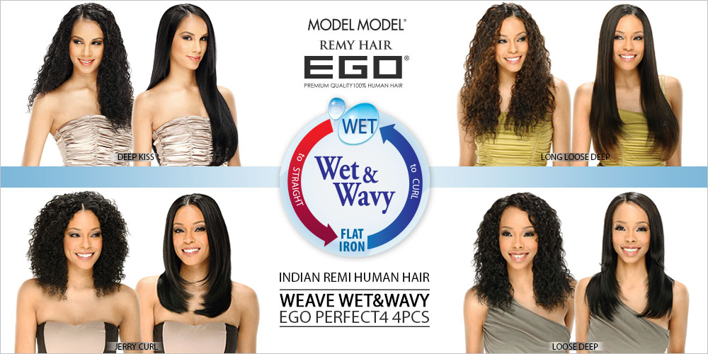 Modelmodel indian remi human hair weave wetwavy ego perfect modelmodel indian remi human hair weave wetwavy ego jerry curl 4pcs pmusecretfo Gallery