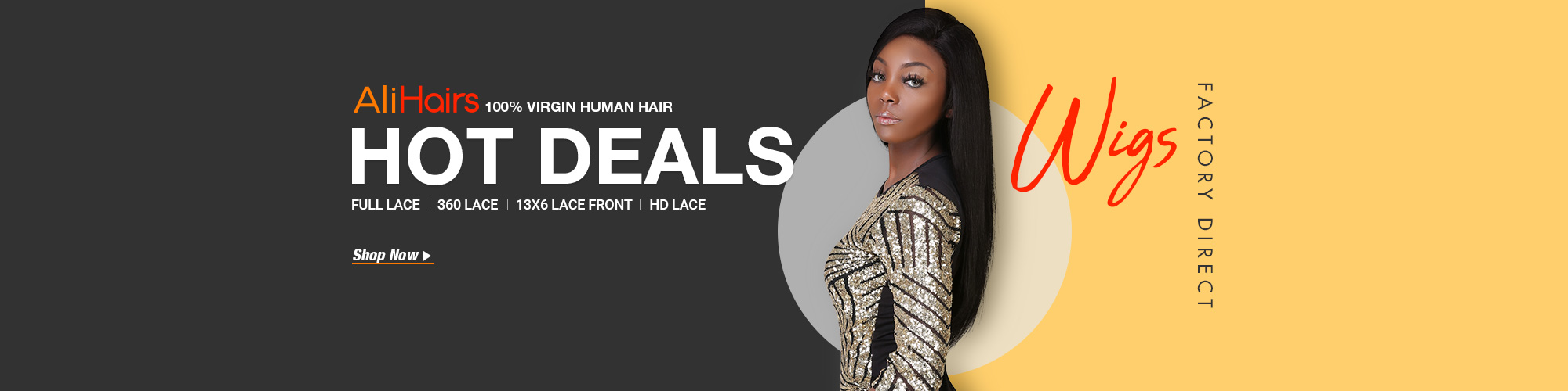HOT DEALS - Alihairs Wigs