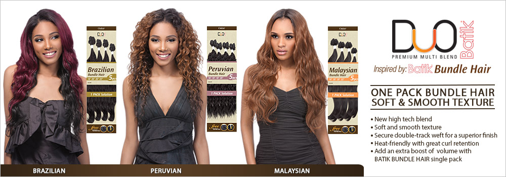 Add An Extra Boost Of Volume With Batik Brazilian Bundle Hair Single Pack