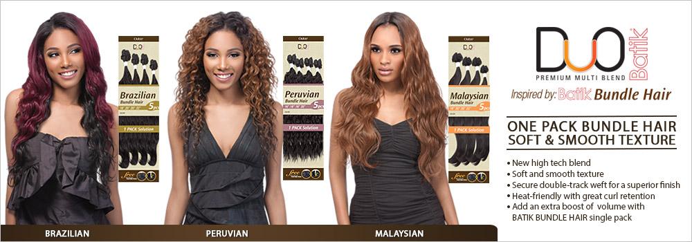 Outre Duo Batik Brazilian Bundle Hair Hairstyle Inspirations 2018
