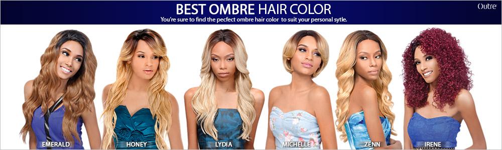 rosé ombre lace wig