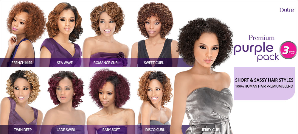 Outre human hair blend weave premium purple pack french kiss 3pcs outre human hair blend weave premium purple pack french kiss 3 pcs 100 human hair premium blend great curl retention easy to manage pmusecretfo Images