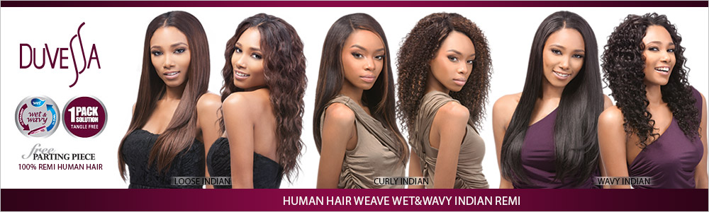 Outre Duvessa Indian Remy Human Hair Weave Wetwavy Wavy Indian Remi