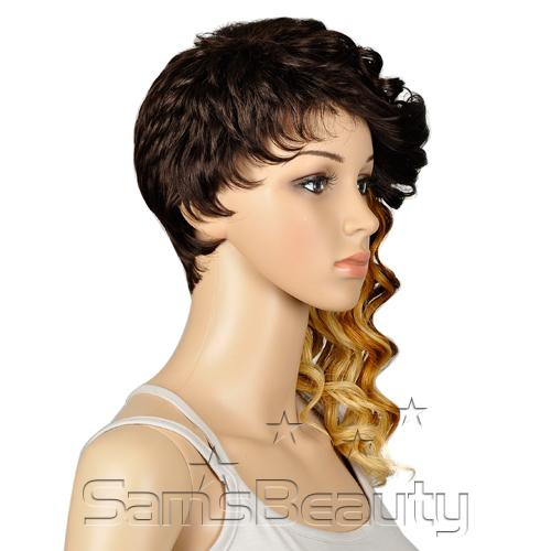 OUTRE Synthetic Hair Half Wig Quick Weave Complete Cap Sexy Cut