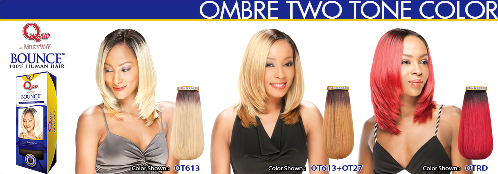 Milky Way Two Tone Hair Weave 81