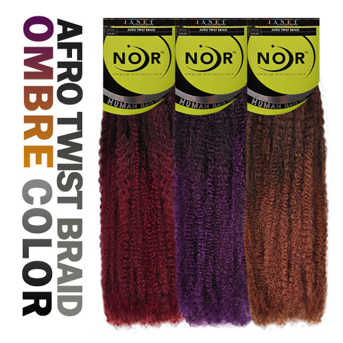 Synthetic Hair Braids Janet Collection Noir Afro Twist Braid ...