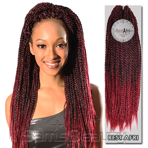 Crochet Box Braids Pre Braided Hair : ... Fri Synthetic 100% Kanekalon Braid Senegal Soul Braid - Samsbeauty