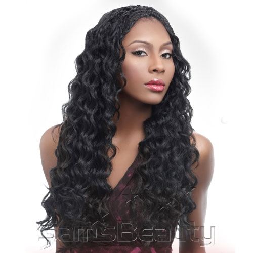 Crochet Hair By Kima : KIMA Ocean Wave Crochet Braids with Hair