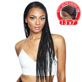 Mane Concept Red Carpet Synthetic Lace Front Wig Red Carpet Invisible Braid Lace Wig 13x7 Rcb01 Nicki 28
