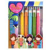 CITY COLOR Jumbo Pencil Set