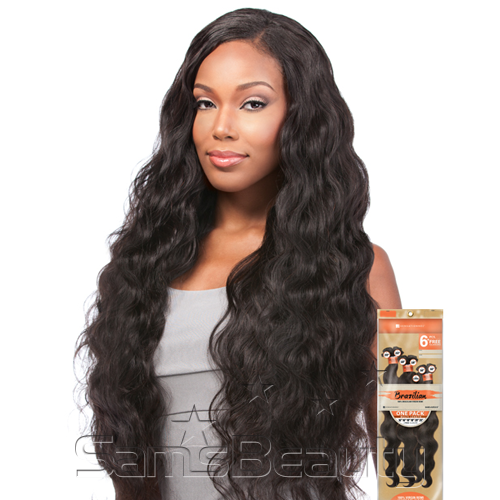 Sensationnel Unprocessed Brazilian Virgin Remy Human Hair Weave Bare & Natural Natural Yaki 50