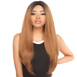 The Stylist Synthetic Lace Front Wig 4x4 Swiss Lace Silk Top Swiss
