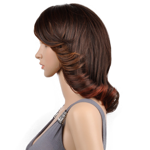 OUTRE Synthetic Hair Half Wig Quick Weave Complete Cap Isabel
