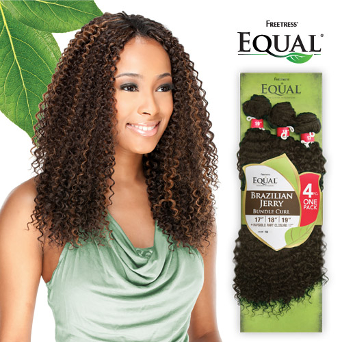 Freetress Equal Synthetic Hair Weave Brazilian Jerry