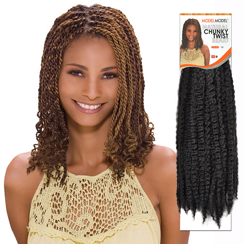 Hair Braids ModelModel Glance Chunky Twist Braid (Jamaican Twist ...