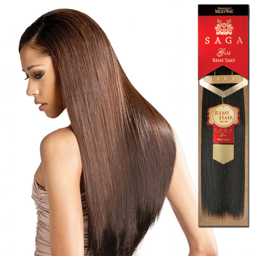 Saga Gold Remy Hair Uk 110