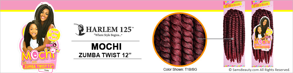 Zumba Crochet Hair : Harlem125 Synthetic Hair Crochet Braids Mochi Zumba Twist 12 ...