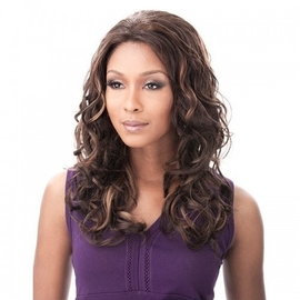 Synthetic Lace Front Wig It's A Wig Bright
