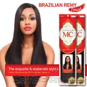 Michelle Human Hair Blend Weave Brazilian Remy Touch Yaki