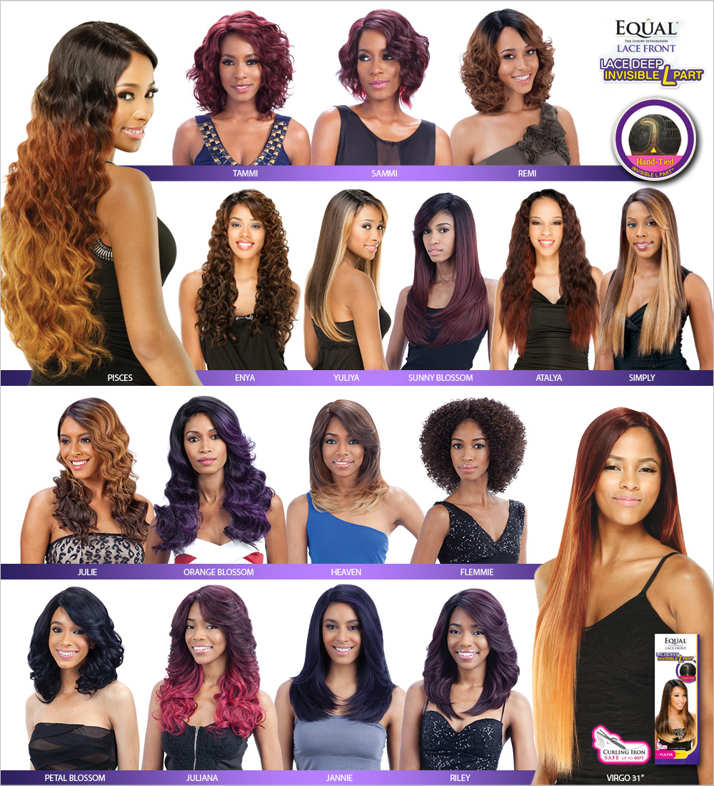 Freetress Equal Synthetic Lace Front Wig Lace Deep Invisible L Part