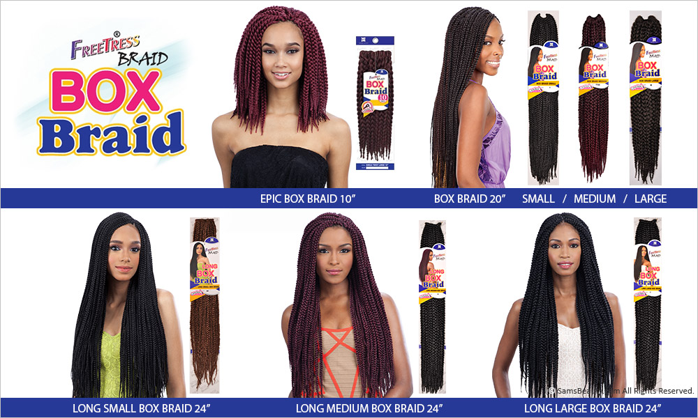 Fantastic Freetress Synthetic Hair Crochet Braid Large Box Braids 20 Hairstyles For Men Maxibearus