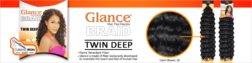 Modelmodel synthetic hair crochet braids glance twin deep samsbeauty flame retardant fiber glance is made of fiber exclusively developed to resemble the touch and feel of human hair pmusecretfo Choice Image