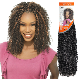 Crochet Box Braids Model Model : ModelModel Synthetic Hair Braids Glance Soft Water - Samsbeauty