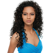 Synthetic Hair Half Wig OUTRE Quick Weave Amber