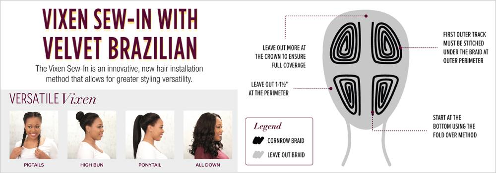 Outre Remy Human Hair Weave Velvet Brazilian Yaki