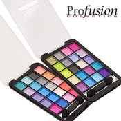 Profusion 20 Color Pearl Eyeshadows