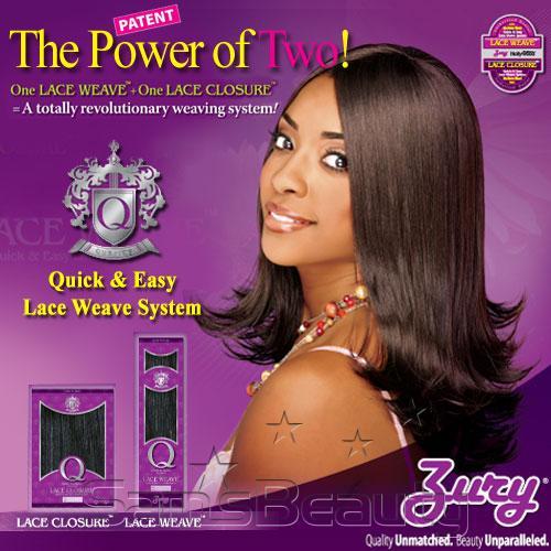 Zury Human Hair Blend Q Lace Closure 106