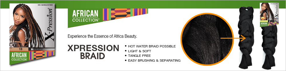 Sensationnel Synthetic Hair Braids Xpression Kanekalon Braid Two