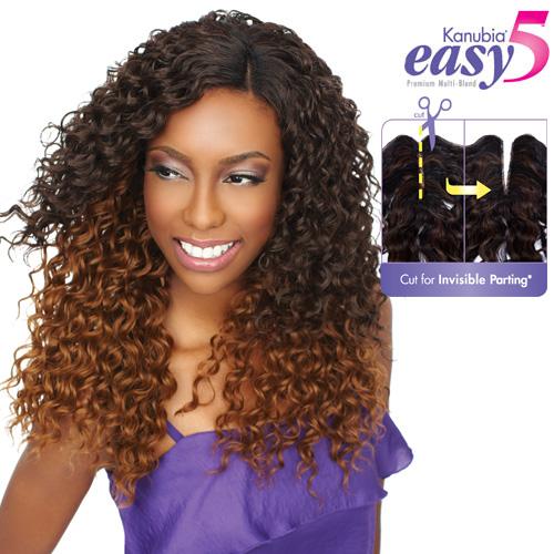 Synthetic Hair Weave Sensationnel Kanubia Easy 5 Beach