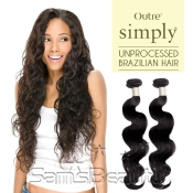 Outre Simply NonProcessed Brazilian Human Hair Weave Body