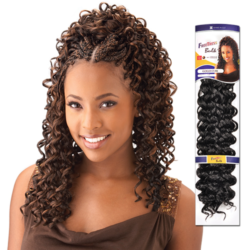 Crochet Hair By Freetress : Synthetic Hair Braids FreeTress GoGo Curl - Samsbeauty